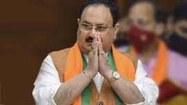 UP polls 2022: BJP chief JP Nadda in Varanasi to review party preparedness