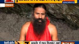 Yoga for Weight Gain | Swami Ramdev shares yoga asanas and pranayamas