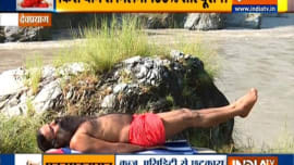 Treat problems related to digestion with Swami ramdev's yoga asanas