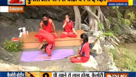 Swami Ramdev shares how to make a shake for weight gain