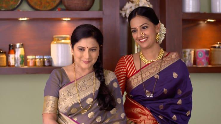 Watch Episode 4 of Agga Bai Sasubai (Marathi) Series Season